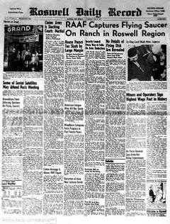 Feature Articles: Famous Roswell UFO Photographer Sets Record Straight