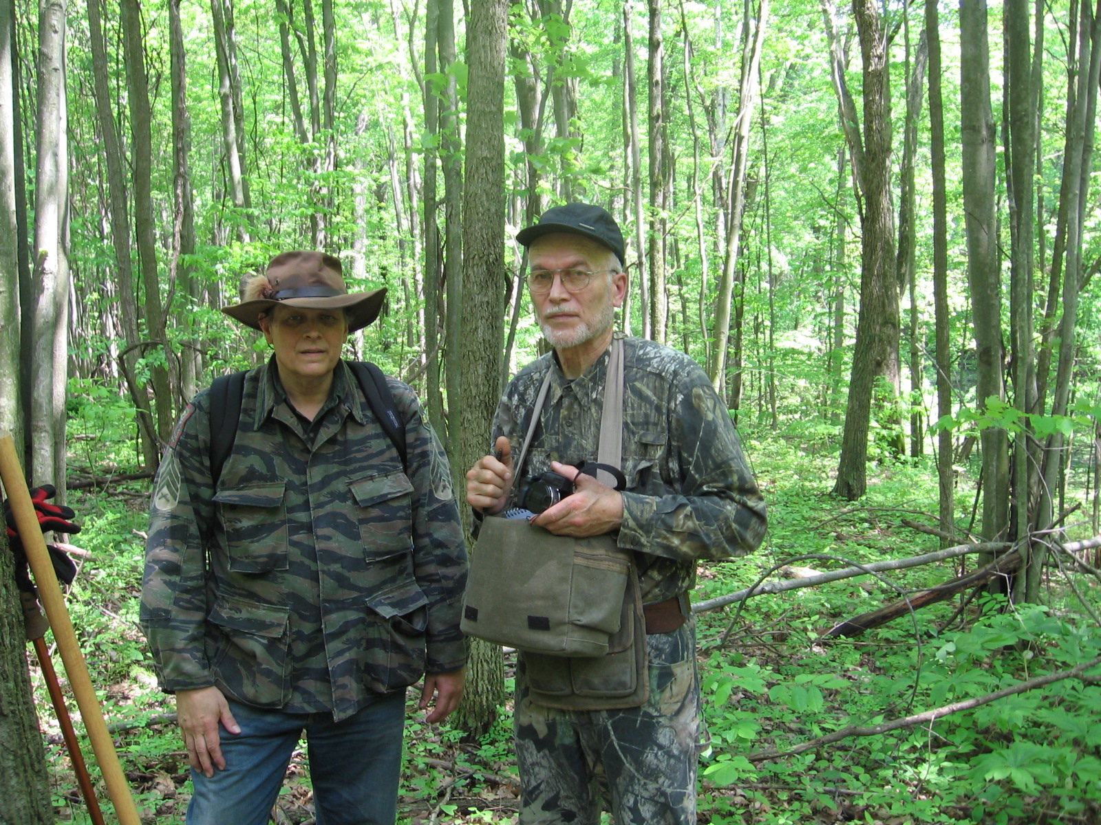 Joe Stewart on left and Dr. Igor Burtsev on right