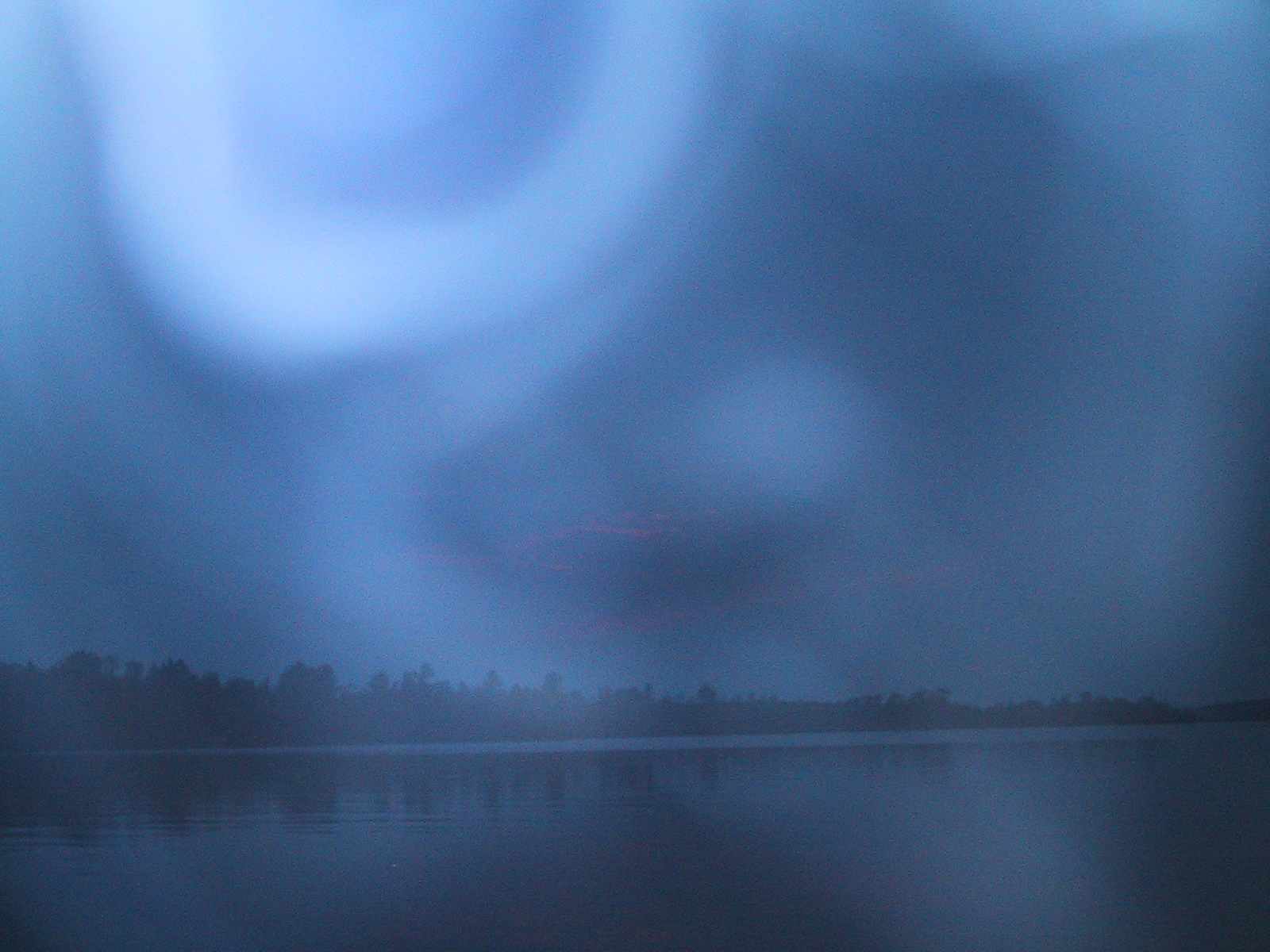 Paranormal Photos: Eerie Energy Fields Photographed at Birch Lake